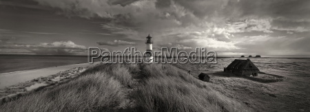 scenics with lighthouse on sylt