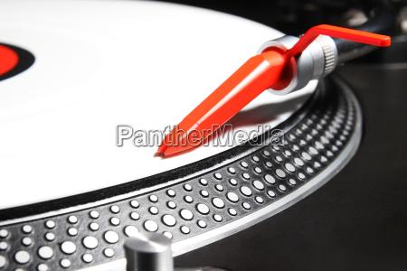 divertimento musica suono piatto disco vinile