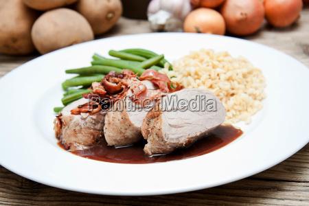 cibo primo piano close up cucina