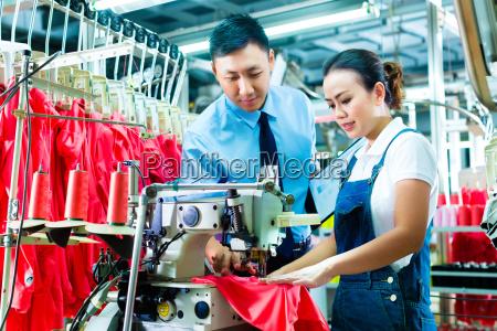 fabbrica tessile qualita tessuto corredo lavoratori