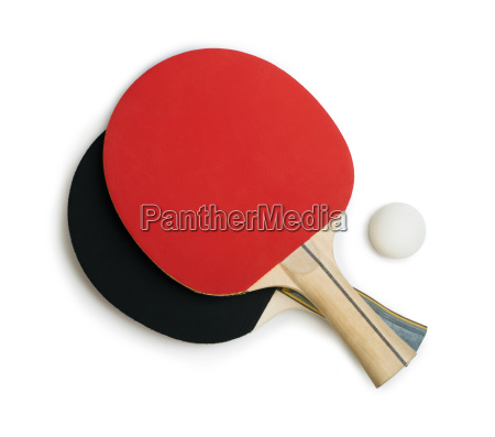 tennis rackets for ping pong white