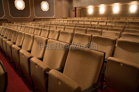 posti a sedere in un teatro
