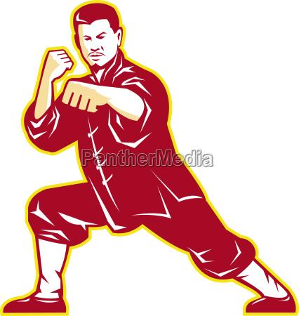 shaolin kung fu maestro di arti