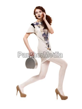 profilo di urban glamorous fashion model