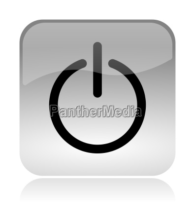 power on off web interface icon