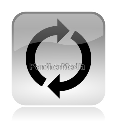 recycling reload web interface icon