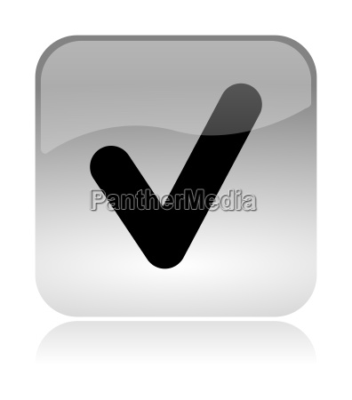 check approved web interface icon
