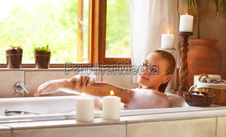 stile di vita relax femminile cosmetici