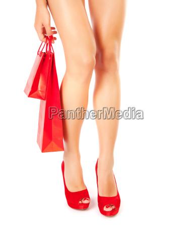 donna gambe stile di vita scarpe