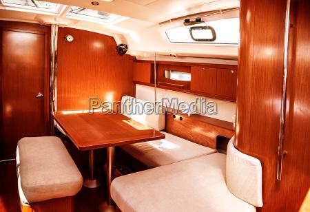 interno nave di lusso