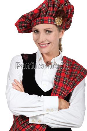 tradizionale costume scozzese scozzesi internazionale verificato
