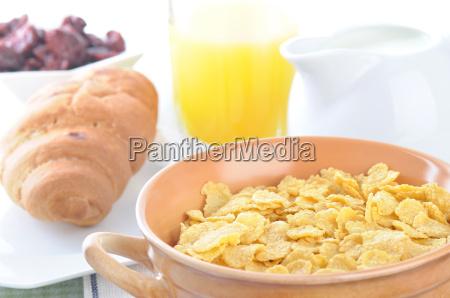 arancia frutta latte succo mais grano