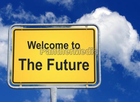 benvenuti, nel, futuro - 9054580