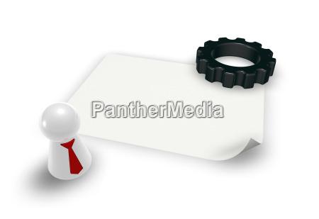 dental wheel and play figure