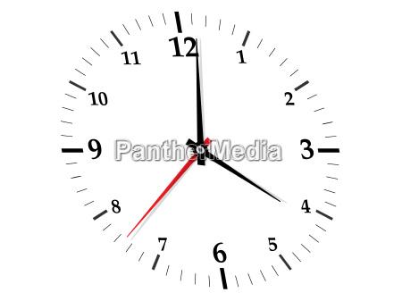 orologio data tempo tempismo timer vettore