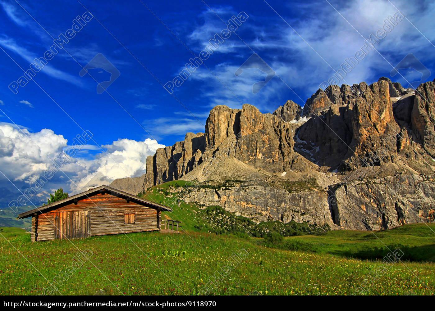 montagne, dolomiti, alpi, pascolo alpino, rocce, roccia - 9118970
