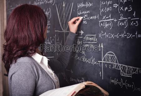 insegnante donna a scuola