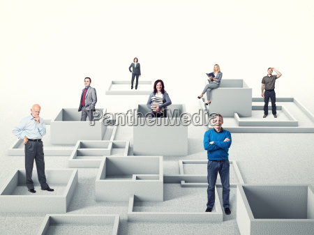 uomini, d'affari - 9243342