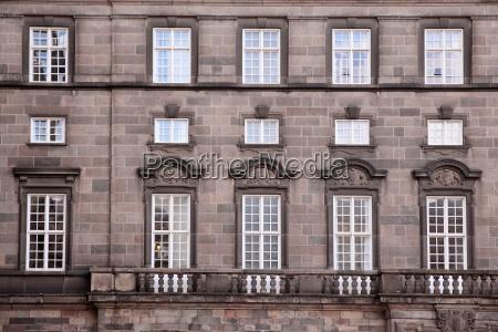 window at christiansborg castle
