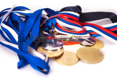 medaglie per i vincitori