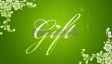 regalo vendita certificato documento promozione sconto