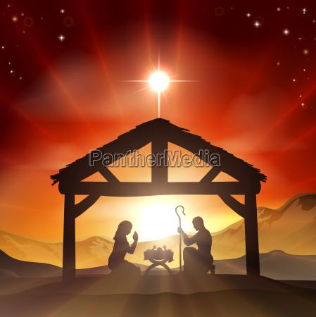 nativita cristiana scene di natale