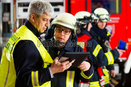 vigili del fuoco pianificazione delle