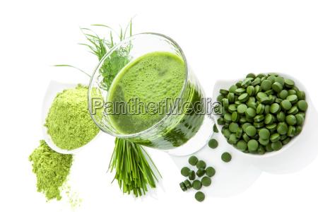 verde sano superfood integratori detox