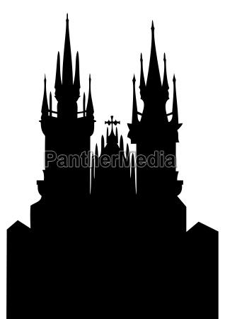 chiesa della madonna prima di tyn