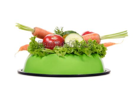 fressnapf pieno di verdure