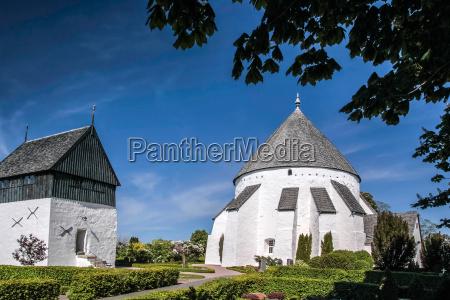 the church of osterlars kirke on