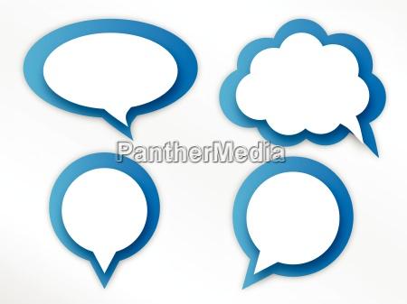 parlare parlato parlando chiacchierata nuvola palloncino