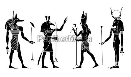 divinita egizie e dea vettore