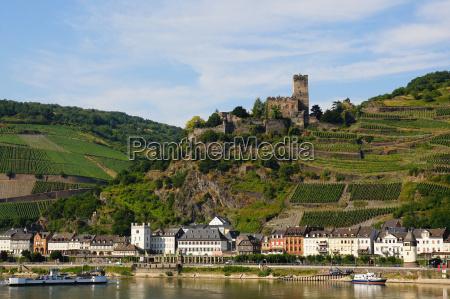 citta reno fortezza traghetto germania castello