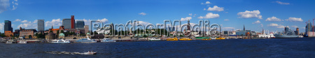 case porto amburgo sguardo vista porti