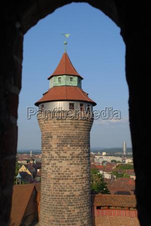 the simwellturm in nuremberg