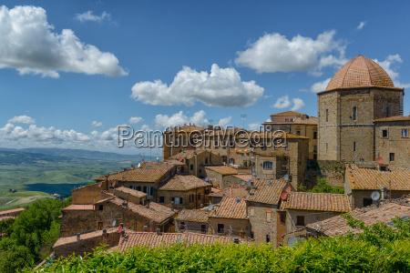 storico citta toscana sguardo vista italia