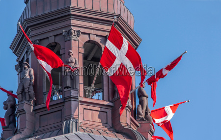 tower of christiansborg castle