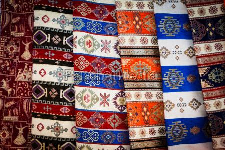 tessuto rug dalla turchia
