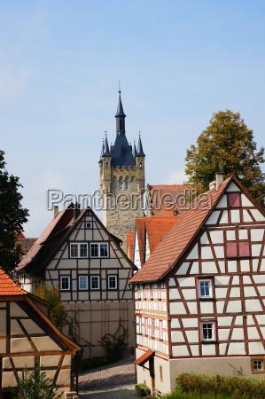 torre citta vecchia germania segni simbolo