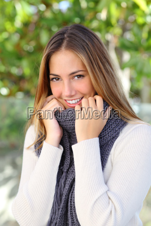 donna bello bella dolce moda inverno