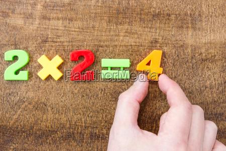 solving simple mathematical formula