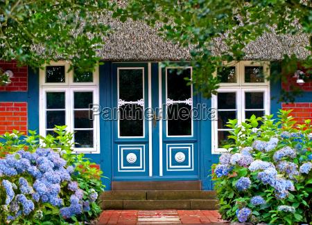 ingresso idilliaco della casa