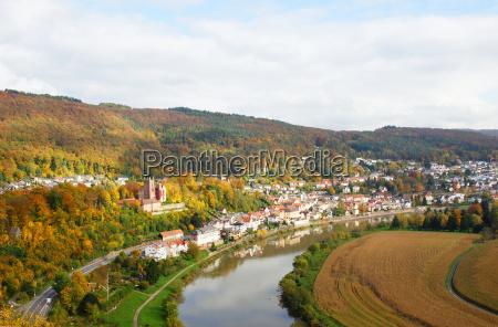 condomini germania villaggio paesaggio natura fiume