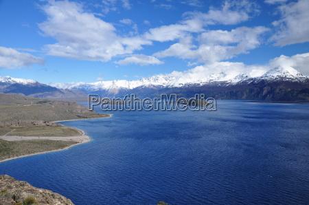 cascata cile sudamerica acqua dolce lago