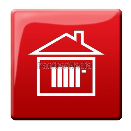 icona, costi, di, riscaldamento - 10186079