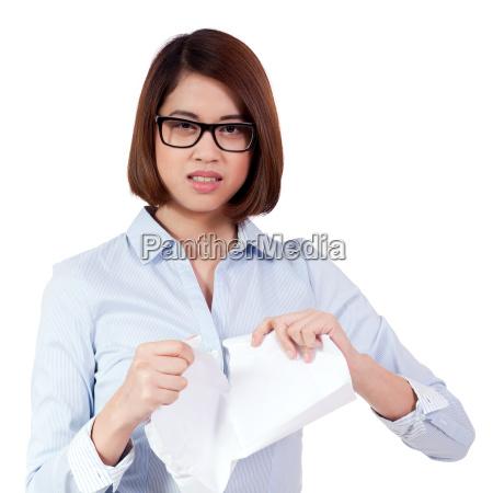 affare affari lavoro professione rabbia asiatico