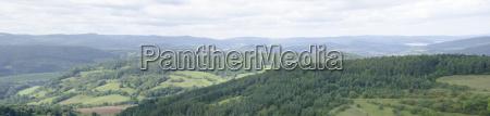 collina turismo agricoltura campo germania turingia