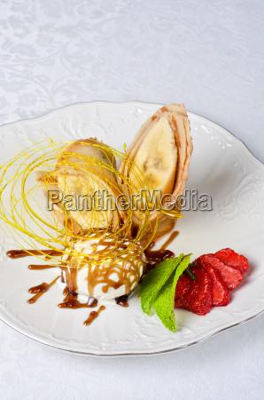 bicchiere cibo salute dolce marrone freddo