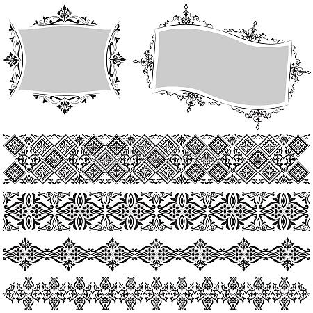 elegant border and frame